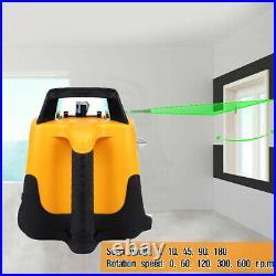 New Auto Self-Leveling Rotary Rotating Green Laser Level 500M Range + Case