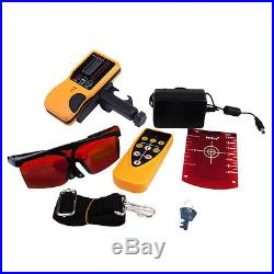 New Automatic Electronic Self-Leveling Rotary Rotating Red Laser Level Kit 500M