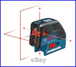 New Bosch GCL25 Self Leveling 5-Point Alignment Laser with Cross-Line