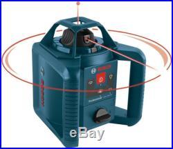 New Bosch GRL800-20HVK Self-leveling Rotary Laser Kit NIB Free Shipping