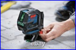 New! Bosch Gcl100-40g Visimax Combination Laser 4 Times Brighter Ships Free