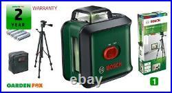 New Bosch Uni Level 360 + TT150 GREEN Lazer Line LEVEL 0603663E03 4059952527819