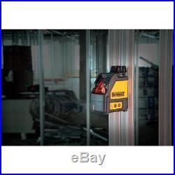 New DeWalt Self Leveling Cross Line Laser Level + 65 ft. Laser Distance Measurer