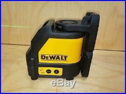 New Dewalt DW088CG Green Beam Self Leveling Cross Line Laser 165' Range
