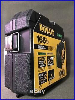 New Dewalt DW088CG Self Levelling Green Cross Line Laser New In Case New In Box