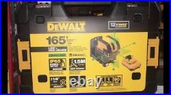 New Dewalt Dw0825lg 12 Volt 5 Spot Cross Line Laser Level 155' Range Kit 2667301