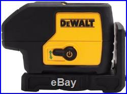 New Dewalt Dw083cg Self Leveling 65' Range Laser Level 3 Spot Beam 2667327