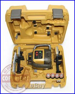 New! Topcon Rl-h5a Self-leveling Rotary Grade Laser Level, 2 Receivers, Transit
