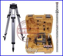 New! Topcon Rl-h5a Self-leveling Rotary Slope Laser Level Package, Grade, 10th