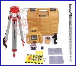 New! Topcon Rl-h5b Self-leveling Rotary Laser Level Package, Transit, Rl-h4c, 10th