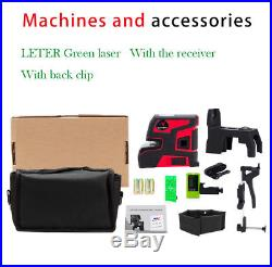 New leter Automatic Self Leveling 2 Line 5 Point 1V1H Green Laser Level
