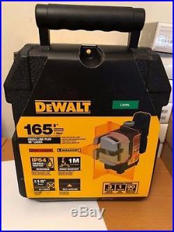 OFFICIAL DEWALT DW089K Self Leveling 3 Beam Line Laser, NEW PACKAGING