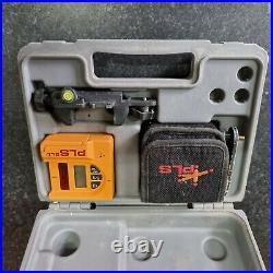PLS 180 Red Beam Cross Line Laser and PLS SLD Laser Receiver Detector