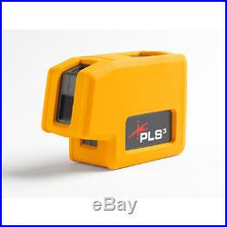 Pacific Laser PLS-60523N PLS3 Self-Leveling 3 Point Red Plumb Bob Laser Level