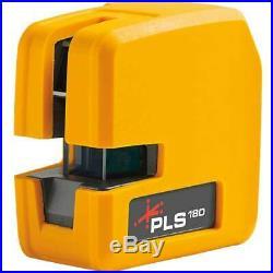 Pacific Laser Systems PLS180 Red Cross Line Laser Level PLS-60521N