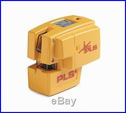 Pacific Laser Systems PLS4 Self-Leveling Point and Line Laser Tool PLS-60574