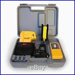 Pacific Laser Systems PLS-60542 Self Leveling PLS 5 Kit System +HVD 500 Detector