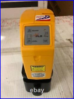 Pacific PLS480 PLS Self-Levelling 1Point Plumb Bob Cross Line Laser