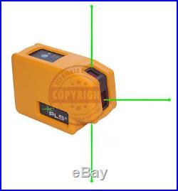 Pls3g Green Beam Self Leveling Laser Level Dot Plumb