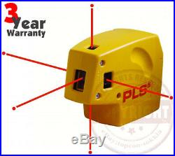 Pls5 Self-leveling Laser Level, Dot, Plumb, Layout, Framing, Drywall, 60541, Hilti