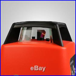 Range Red Beam 500m Automatic Rotary Rotating Laser Level Self-Leveling Tool