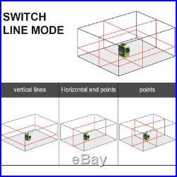 Rotary laser level Red Cross Line Laser Self Leveling Huepar 603CR 360 degree