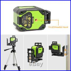 Rotary laser level green Cross Line Laser Self Leveling 902CG Huepar Laser level