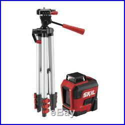 SKIL LL932201 65 ft. Self-levelling 360 Degree Red Cross Line Laser New