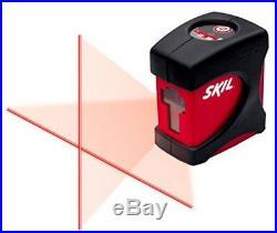 SKIL MT 8201-CL Self-leveling Cross-Line Laser Level Kit +TRIPOD +WARRANTY