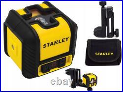 STANLEY CUBIX 2 Cross Line Laser Level 77-498 Self Leveling Multi Line