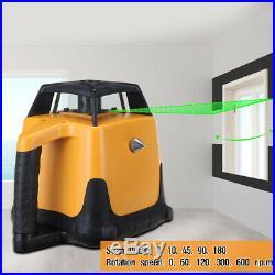 Samger 360° Automatic Self-leveling Rotary Laser Level Green beam 500m Range