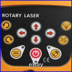 Samger Automatic Self Levelling Rotating Red Laser Level Rotary Laser 500m Range