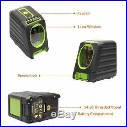 Self-leveling Laser Level Huepar Box-1G 150ft/45m Outdoor Green Cross Line