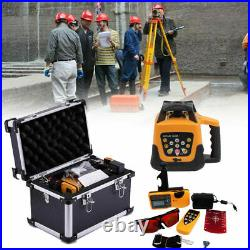 Self-leveling Rotary Green/Red Laser Level kit 150 meter distance UK Stock