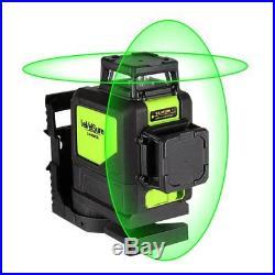 Self-leveling Semi Professional Laser Level Levelsure 902CG Green Beam Cross