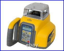 Spectra GL412 Single Slope Grade Laser withCR600 Receiver