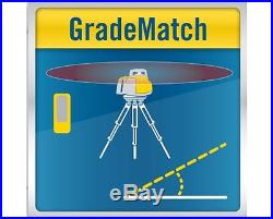 Spectra LL300S Rotary Laser Level Self Leveling, HL450 Receiver 2,600 Range
