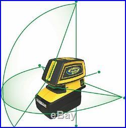 Spectra LT52G Self Leveling Green Beam 5 Point & Cross Line Laser BRAND NEW