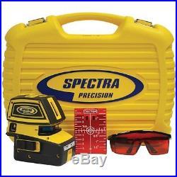Spectra Laser LT52 Self Leveling 5 Point & Cross Line Laser Level