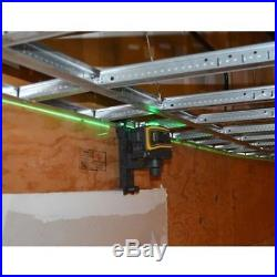 Spectra Laser LT58 Green Beam Self Leveling 3-Plain Cross Line Laser Level