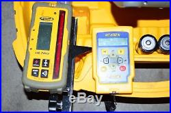 Spectra Precision GL412N Self-Leveling Rotary Laser Level HL760, RC402N