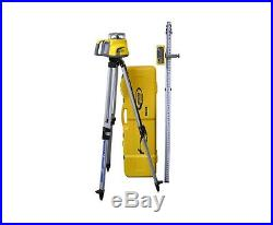 Spectra Precision LL300N Self Leveling Laser with HL450 Receiver, Rod, Tripod