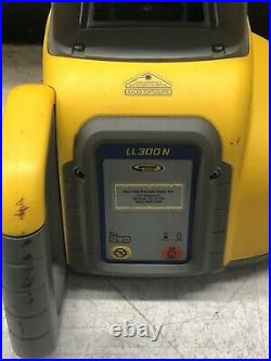 Spectra Precision Laser LL300N Automatic Self-Leveling Level w Receiver & Case