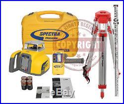 Spectra Precision Ll300n Package Self Leveling Rotary Laser Level, Transit, Topcon