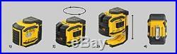 Stabila 03185 LAX300G Green Beam Cross Line Plus Plumb Dots Laser Level