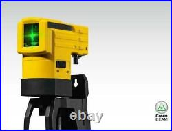 Stabila Green Beam Self Leveling Cross Line Laser and 1/4in Tripod 19110 LAX50G