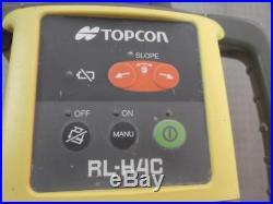 TOPCON RL-H4C Long-Range Self Leveling Construction Laser