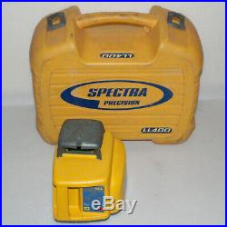 TRIMBLE SPECTRA PRECISION LL400 SELF-LEVELING ROTARY TRANSIT LASER LEVEL With CASE