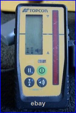 Topcon Dual Grade Red Beam Self Leveling Laser Level Model RL-SV2S