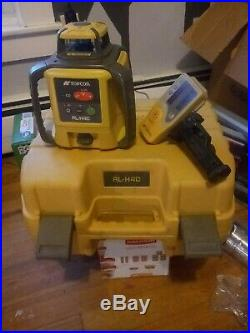 Topcon RL-H4C Long-Range Self-Leveling Construction Laser with Dry-Cell Battery